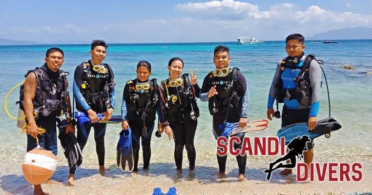 discover scuba diving in Puerto Galera Philippines