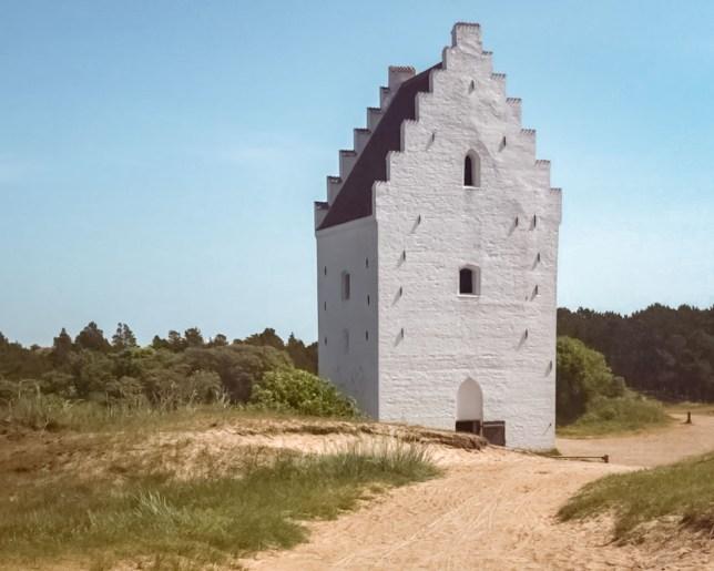 Den tilsandede kirke-2