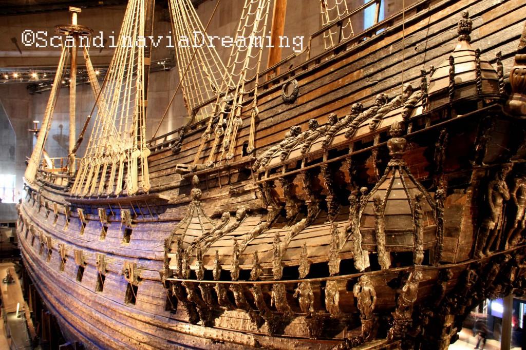 Le Vasa dans toute sa splendeur ! 95% intact depuis 1628 !