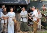 Archery Viking games 2014 Sweden