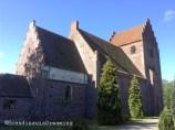 Keldby church Mon Island Denmark