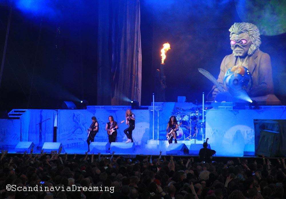 Copenhell 2014 Iron Maiden and Eddie