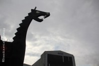 Copenhell's drakkar