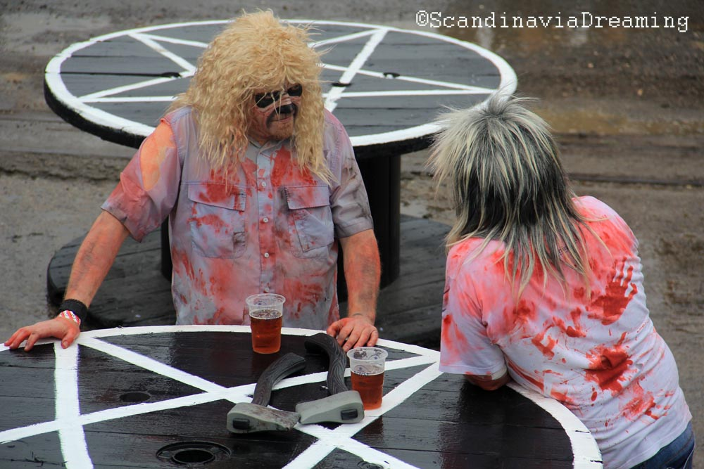Copenhell's zombies