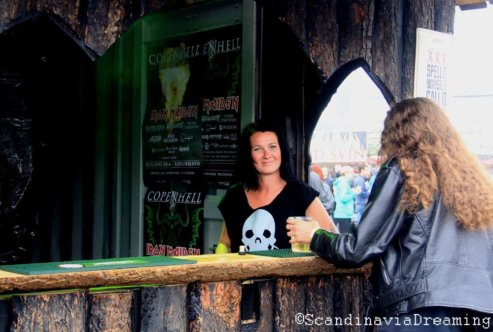 Jameson church bar Copenhell