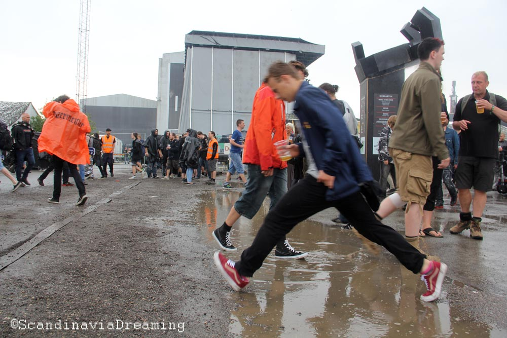 Puddle crossing Copenhell 2014