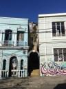 Se perdre dans les rues de Valparaiso