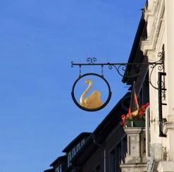 Façade de la place centrale d'Aachen