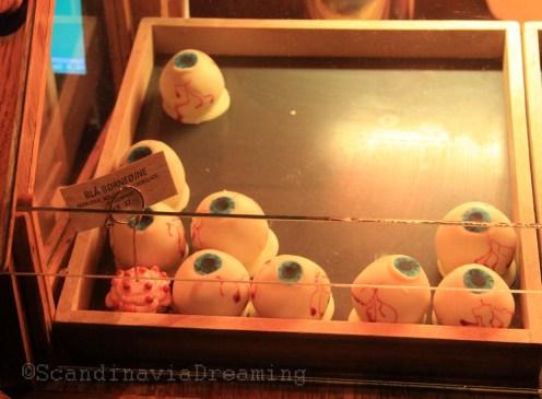 Bonbons en forme d'oeil d'enfants