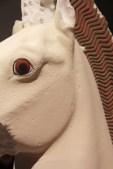 Cheval antique recolorisé pour l'exposition de la Glyptotek