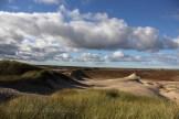 Du haut de la dune voyageuse à Skagen