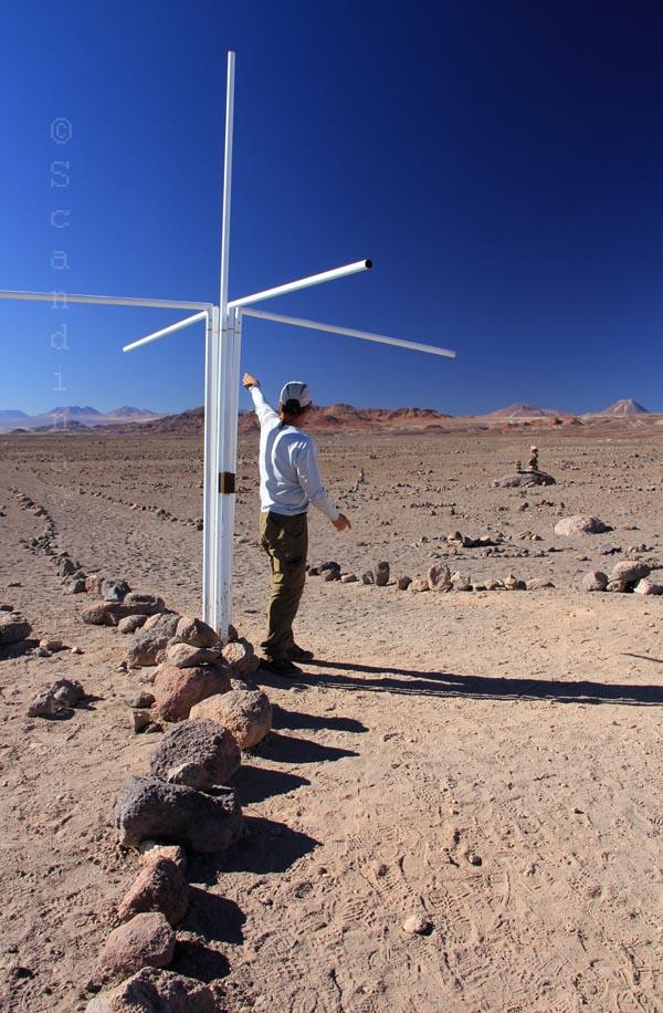 Passage du tropique dans le désert d'Atacama