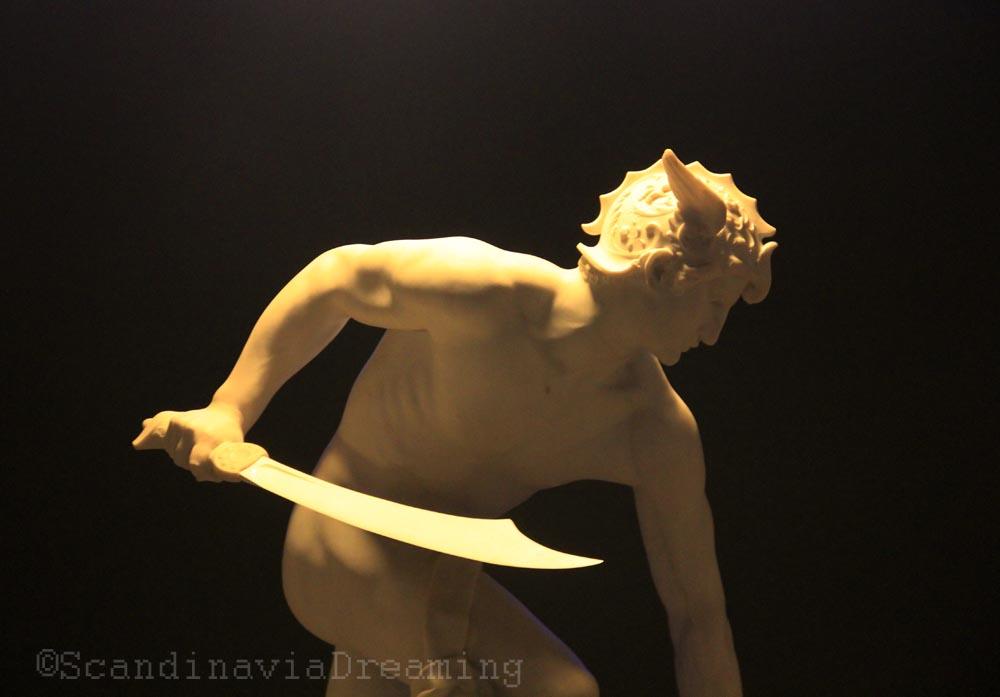Section sculpture française à la Glyptotek de Copenhague