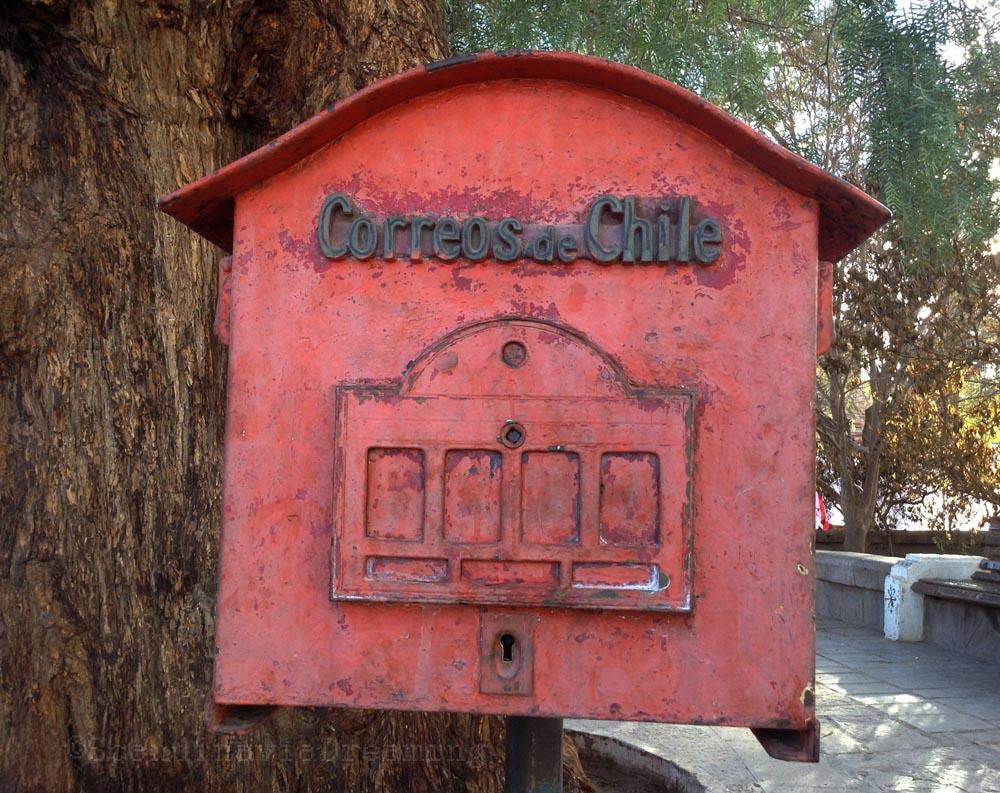 Vieille boite à lettre chilienne