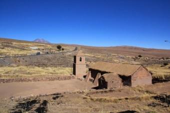 Village dans l'Altiplanico atacamène