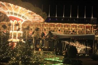 Manège de Tivoli à Noël