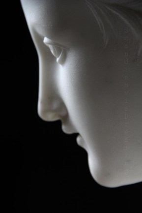 Profil de jeune-fille par Thorvaldsen