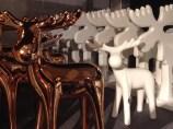 Rayon rennes de Noël à Illum Bolighus