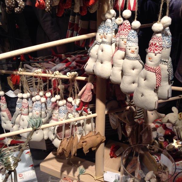 Rayons décorations de Noël traditionnel