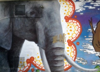 Amager centret - Streetart