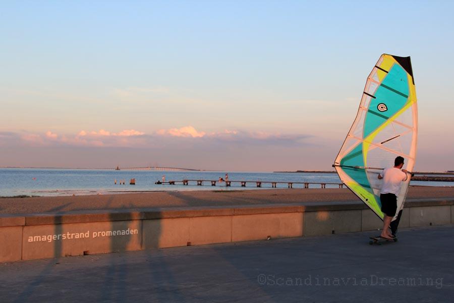 Amager strandpark - La promenade