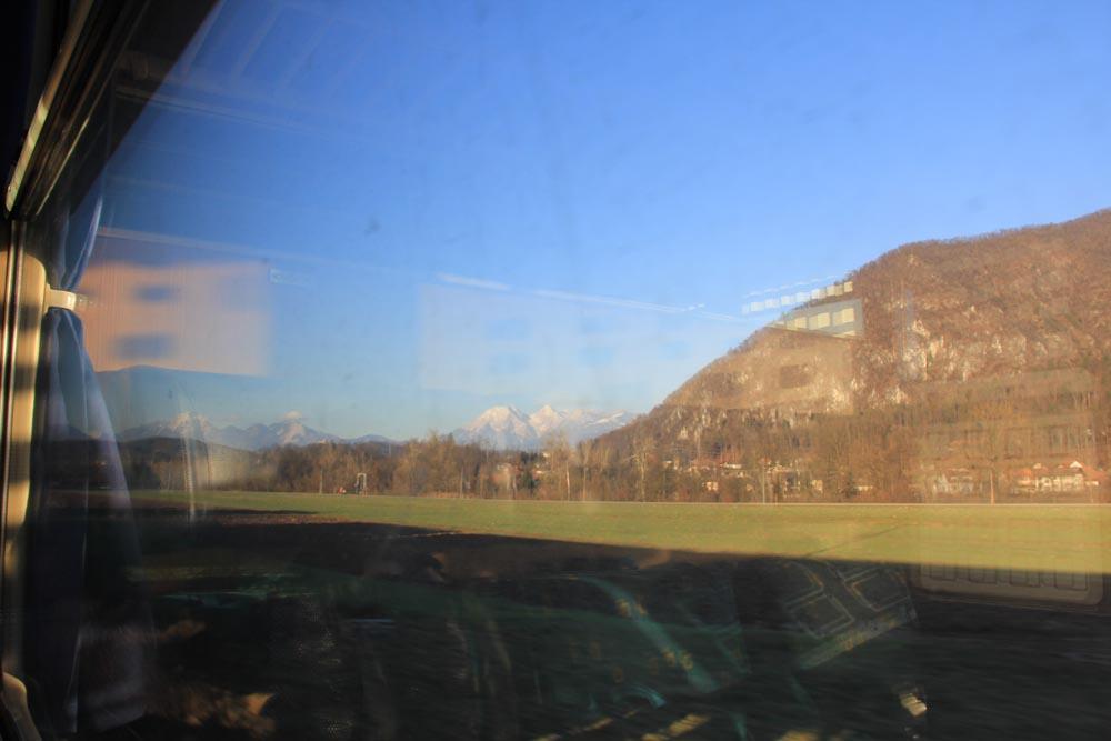 Dans le train entre la Slovénie et l'Autriche (2)