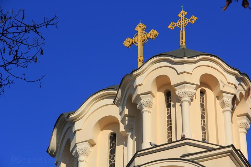 Eglise orthodoxe de Ljubljana, détail