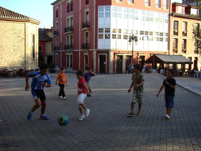 Foot de rue en Espagne