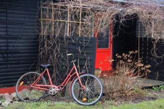 Kolonihave- Vélo rouge