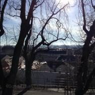 Soleil d'hiver sur Zagreb