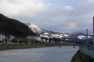 Ciel neigeux à Salzbourg