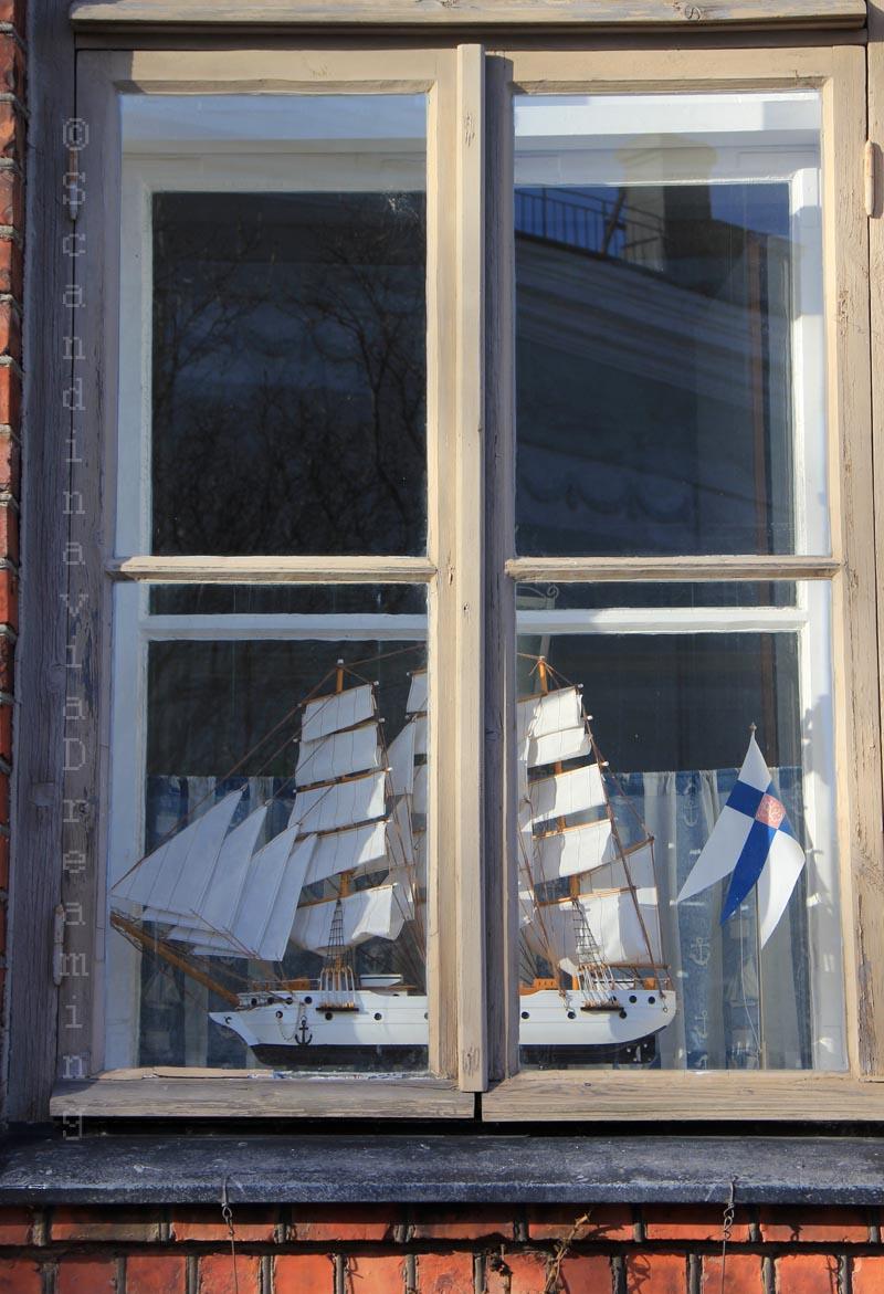 Fenêtre de Suomenlinna