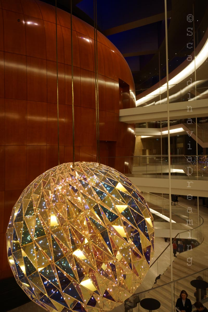 Intérieur de l'Opéra de Copenhague