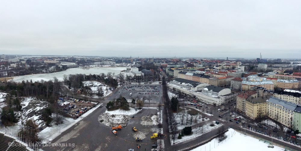 Panorama de la ville d'Helsinki
