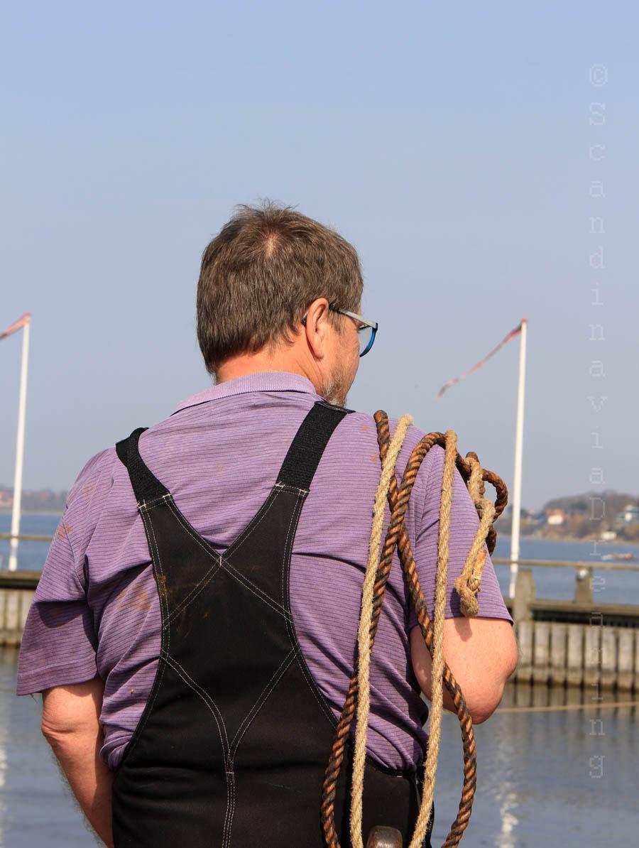 Membre d'équipage du Sea Stallion Roskilde