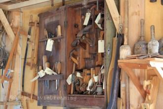 Outils de charpentier de marine
