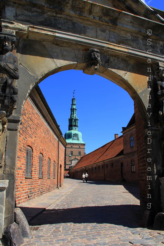 Allée du château de Freeriksborg