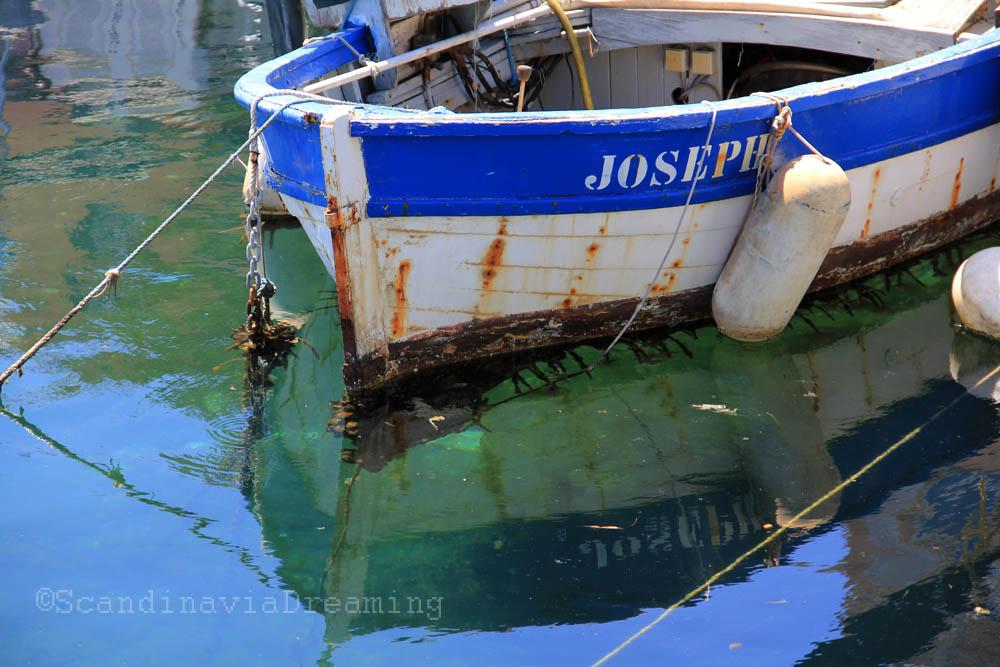 Barque de pécheur à Ajaccio