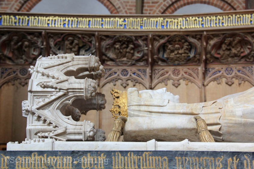 Gisant du choeur de la cathédrale de Roskilde