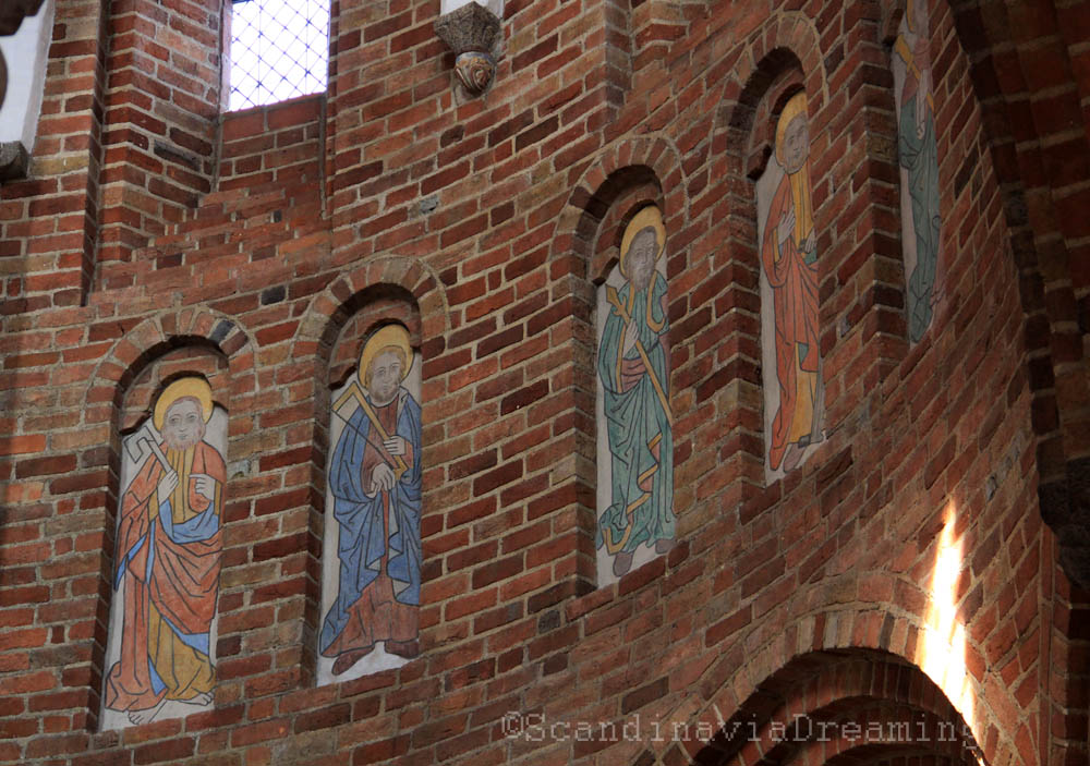 Peintures du choeur de la cathédrale de Roskilde