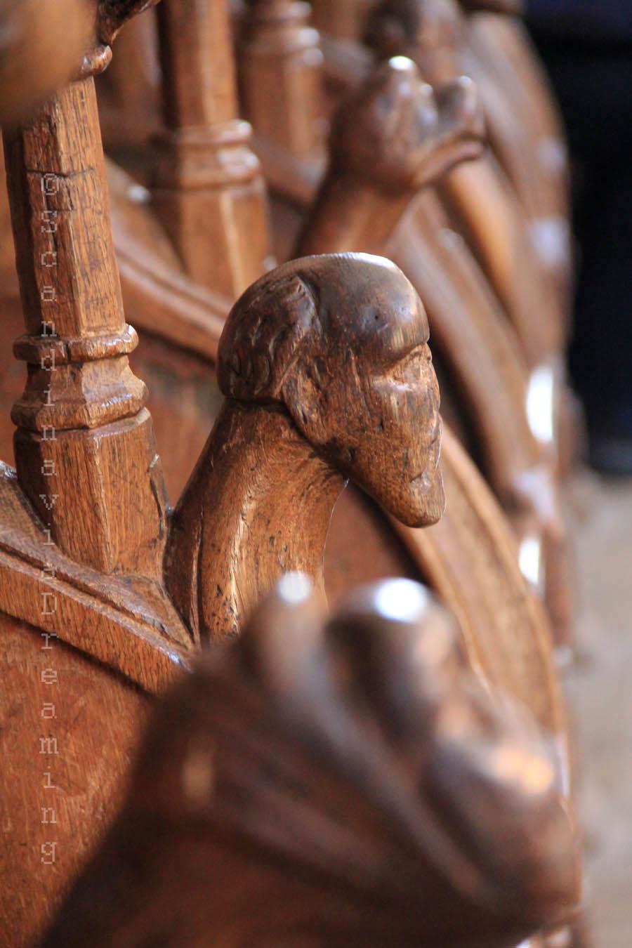 Stalles du choeur de la cathédrale de Roskilde