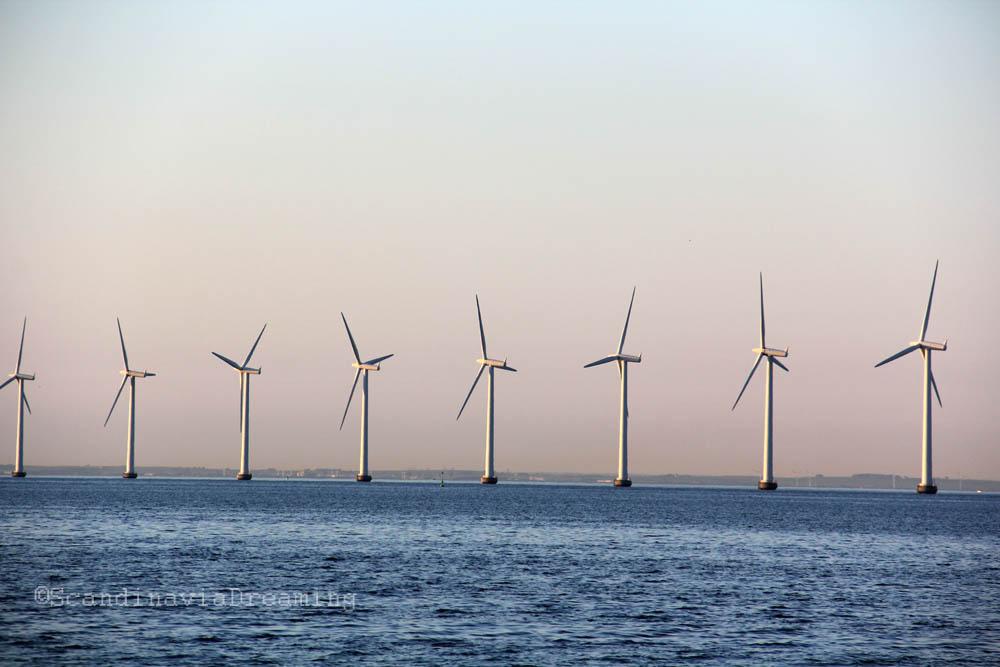 éoliennes Copenhague