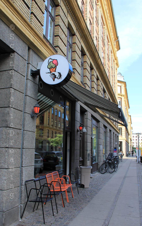 Glace sicilienne à Copenhague