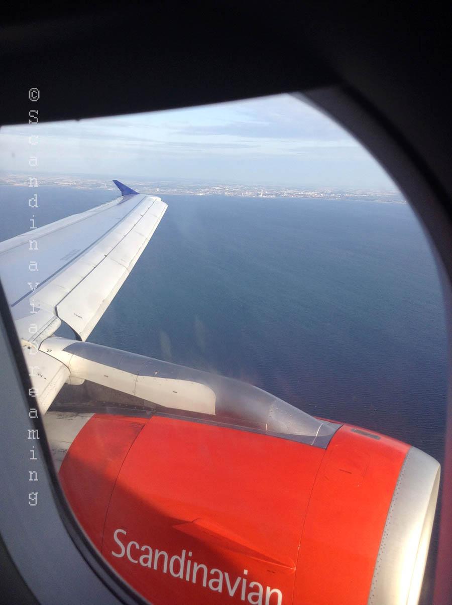 Malmö vue de l'avion