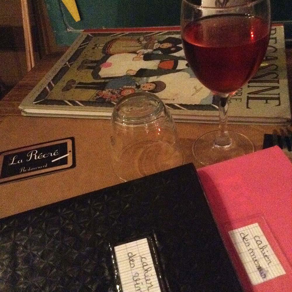 À la table de la Récré