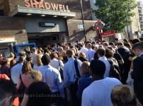 La grève de métro à Londres