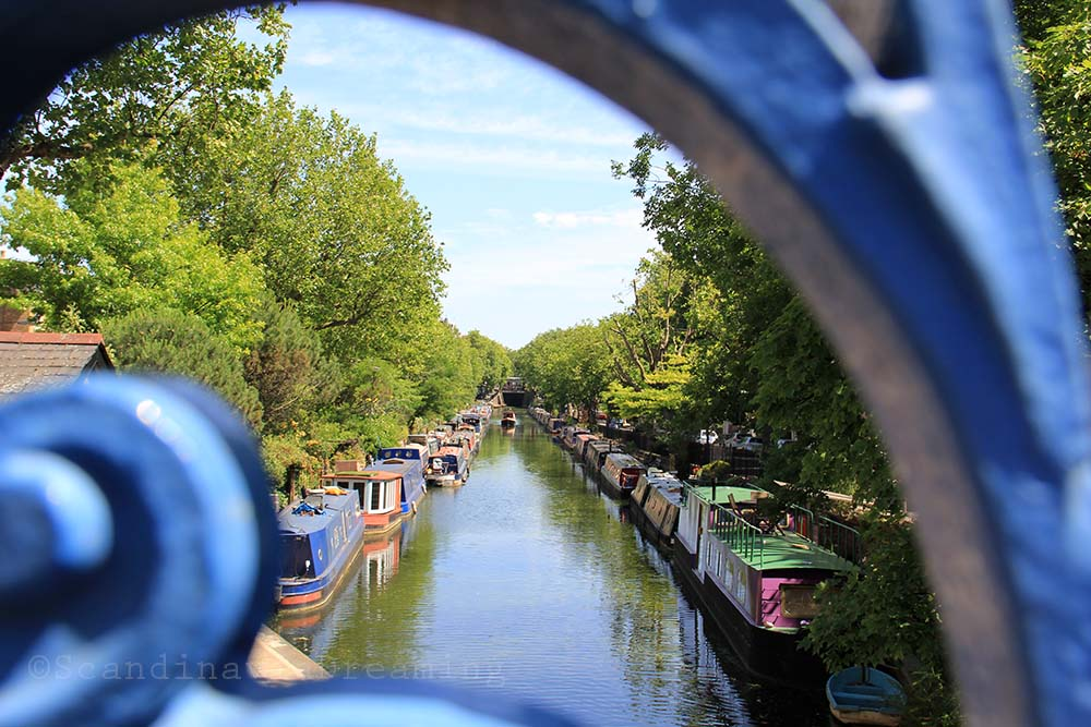 Little Venice depuis Warwick avenue