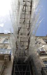 Passage du vent entre les immeubles
