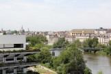 Vue du toit de l'école d'architecture de Nantes