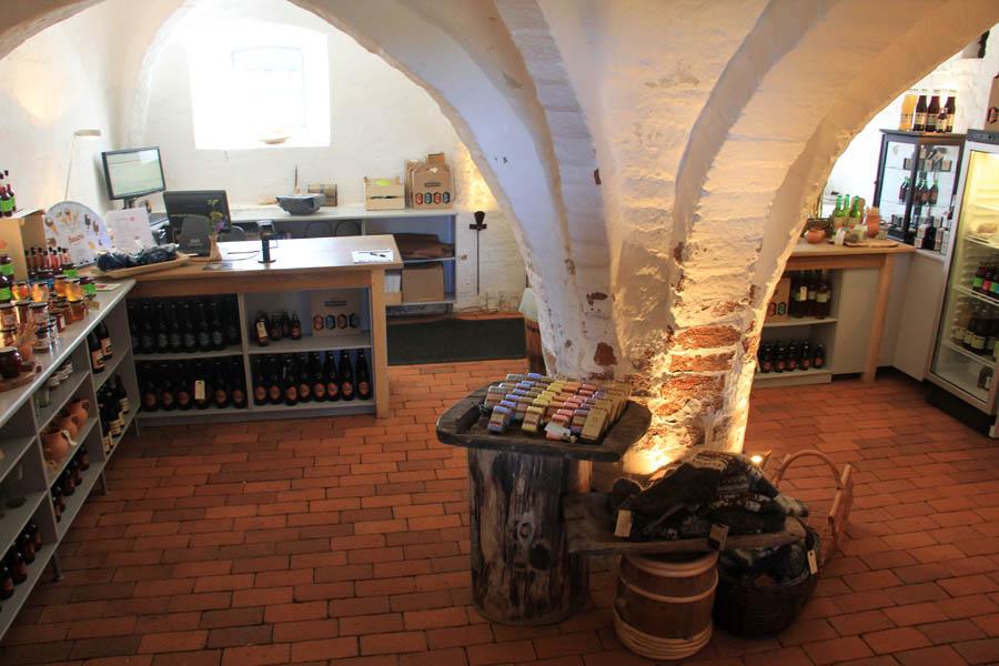 Boutique de l'abbaye d'Esrum